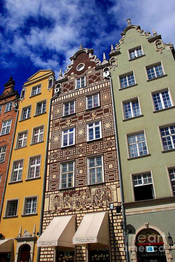 Gdansk Photograph - Beautiful Gdansk by Sophie Vigneault