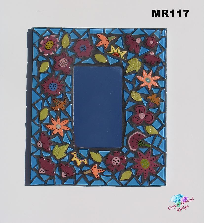 mirror mosaic wall
