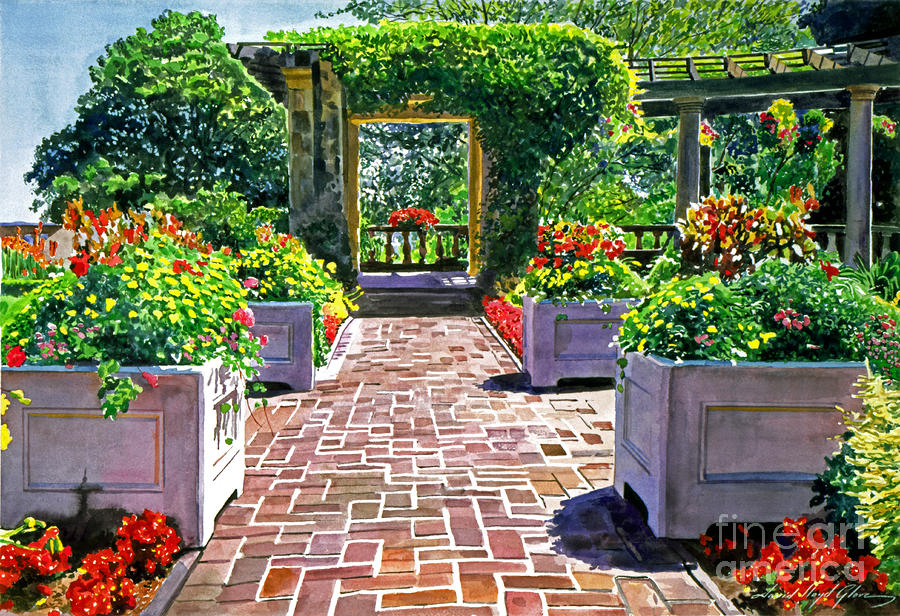 Beautiful italian gardens by david lloyd glover
