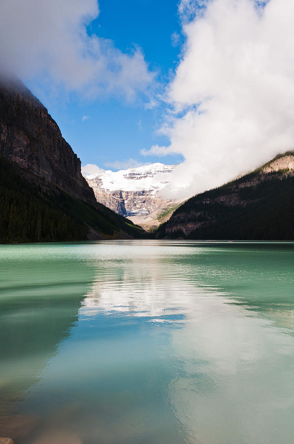 Beautiful Lake Louise Photograph  - Beautiful Lake Louise Fine Art Print