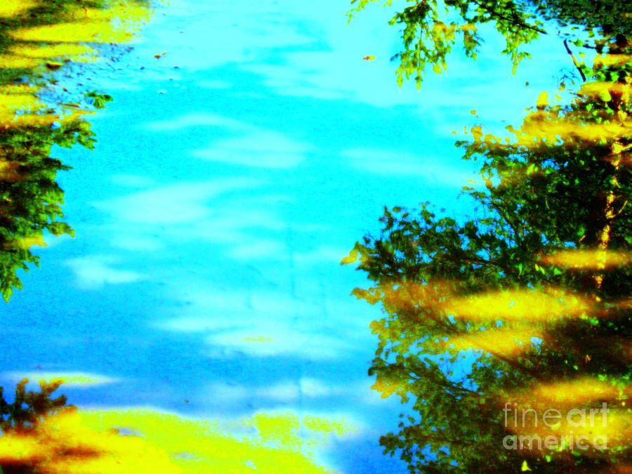 Blue Sky Canvas Prints Photograph - Beautiful Summer Day by Pauli Hyvonen