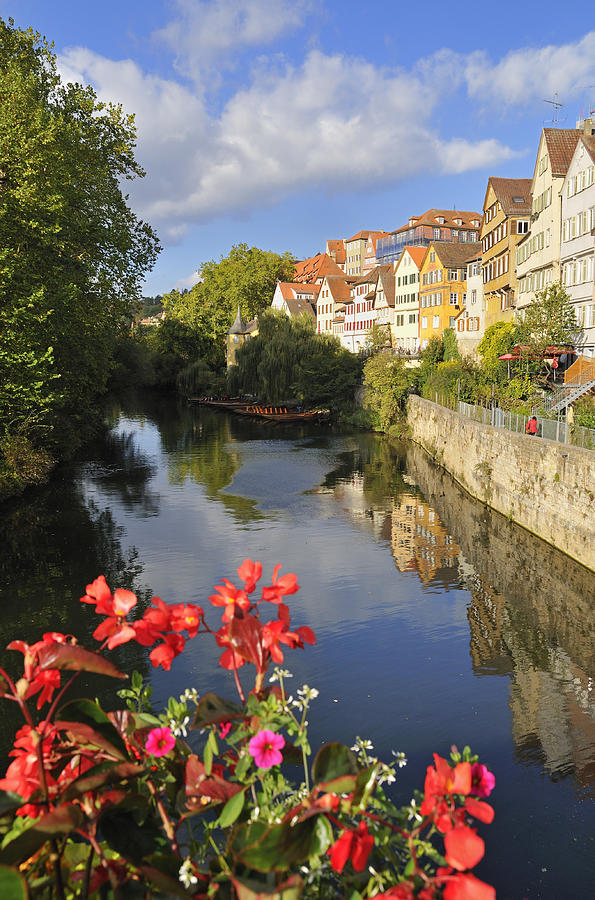 Beautiful Tuebingen In Germany Photograph