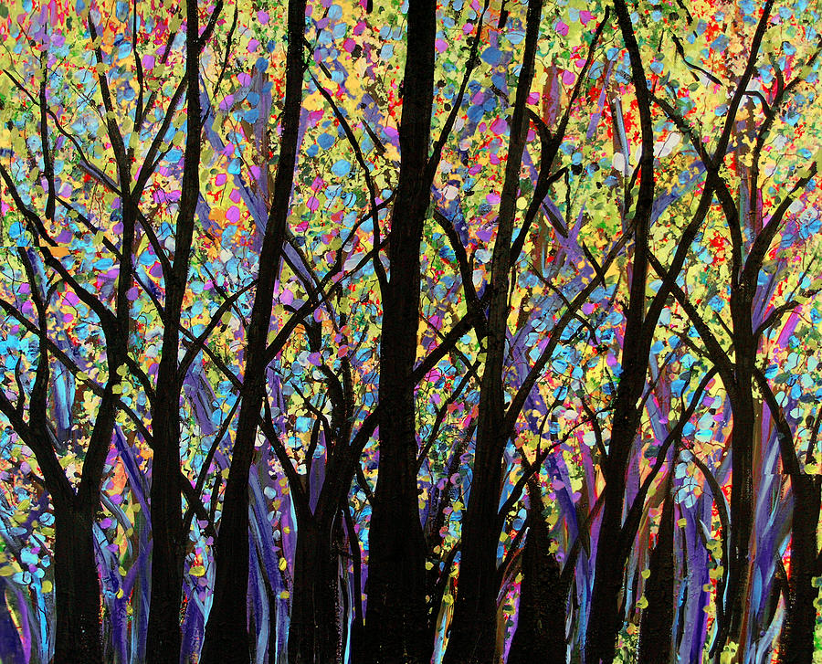 Beauty In The Deep Woods Painting