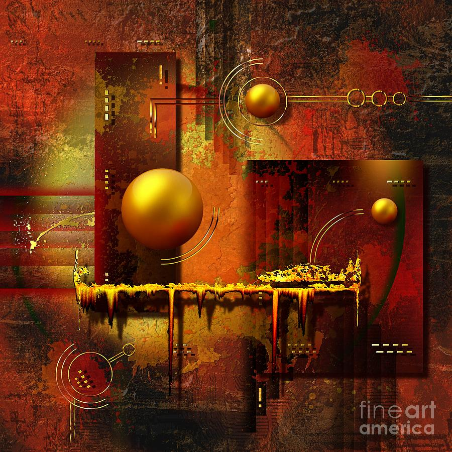 Beauty Of An Illusion Digital Art  - Beauty Of An Illusion Fine Art Print