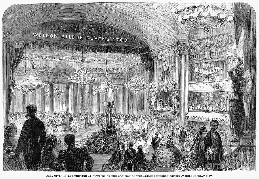 Beaux Arts Ball, 1861 Photograph