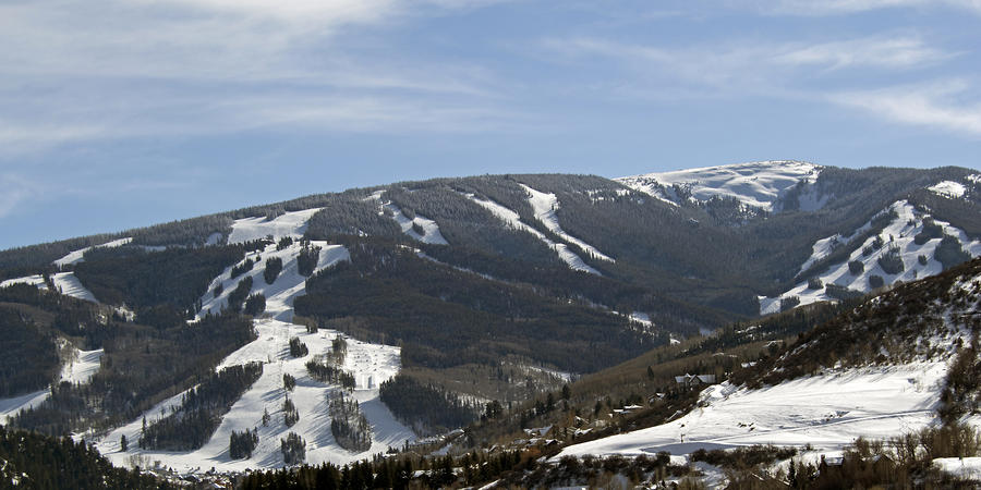 Beaver Creek Ski Resort Colorado Photograph  - Beaver Creek Ski Resort Colorado Fine Art Print