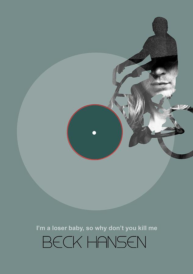 Beck Poster Digital Art