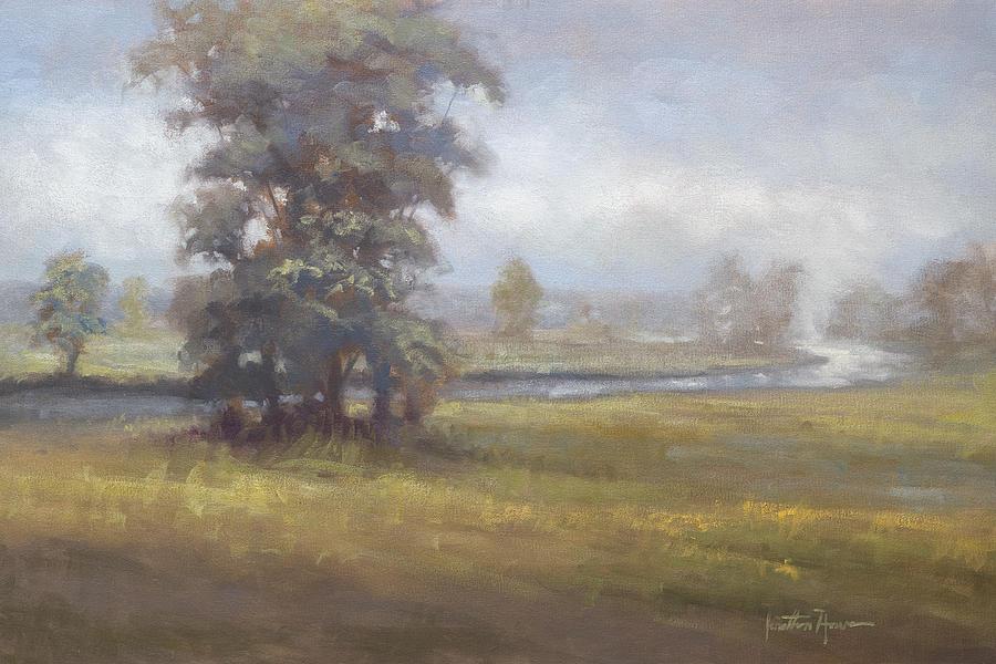 Portraits Painting - Beckon by Jonathan Howe
