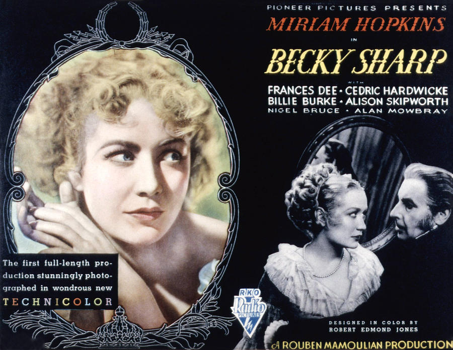 Becky Sharp, Miriam Hopkins, Cedric Photograph