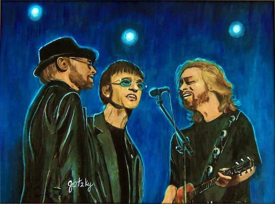 Bee Gees Painting  - Bee Gees Fine Art Print