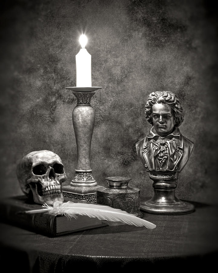 Beethoven Still Life Photograph