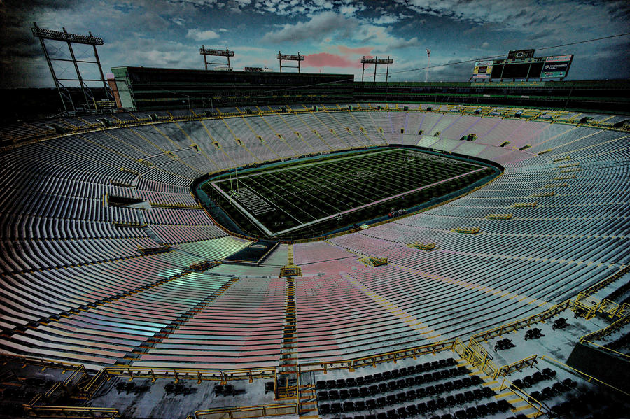 Before The Game At Lambeau Photograph  - Before The Game At Lambeau Fine Art Print