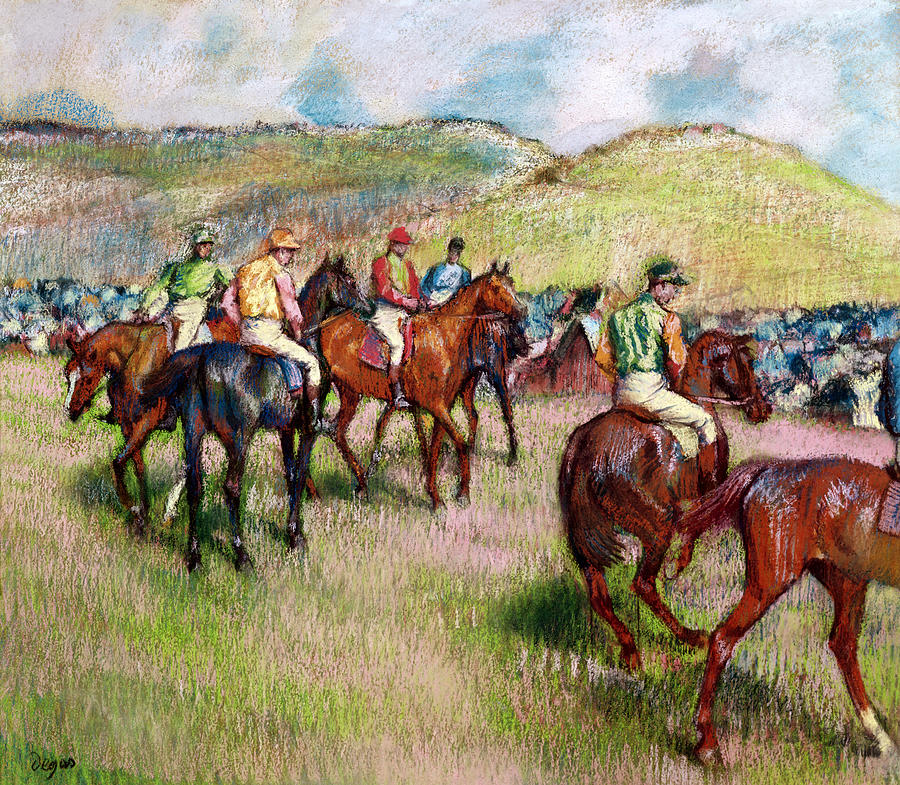 Before The Race Painting