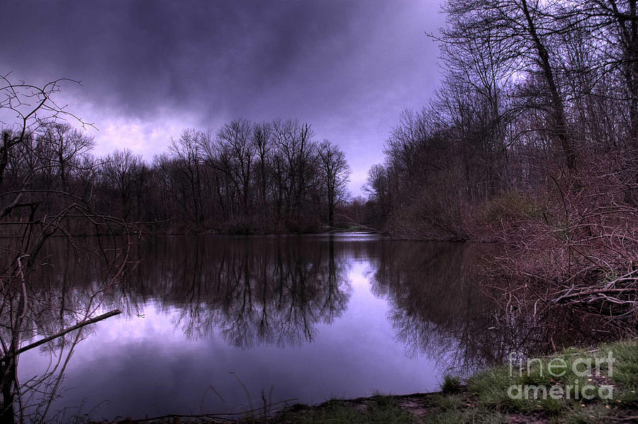Park Photograph - Before The Storm by Paul Ward