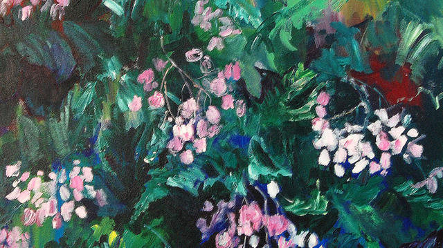 Begonias At Longwood Painting