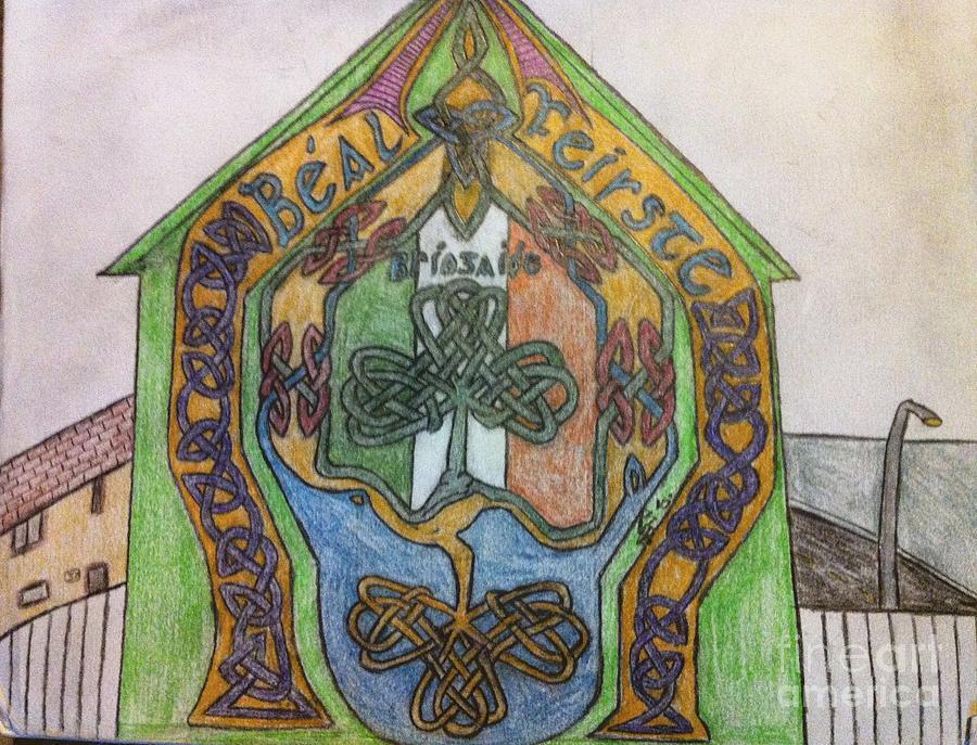 Belfast Mural Drawing