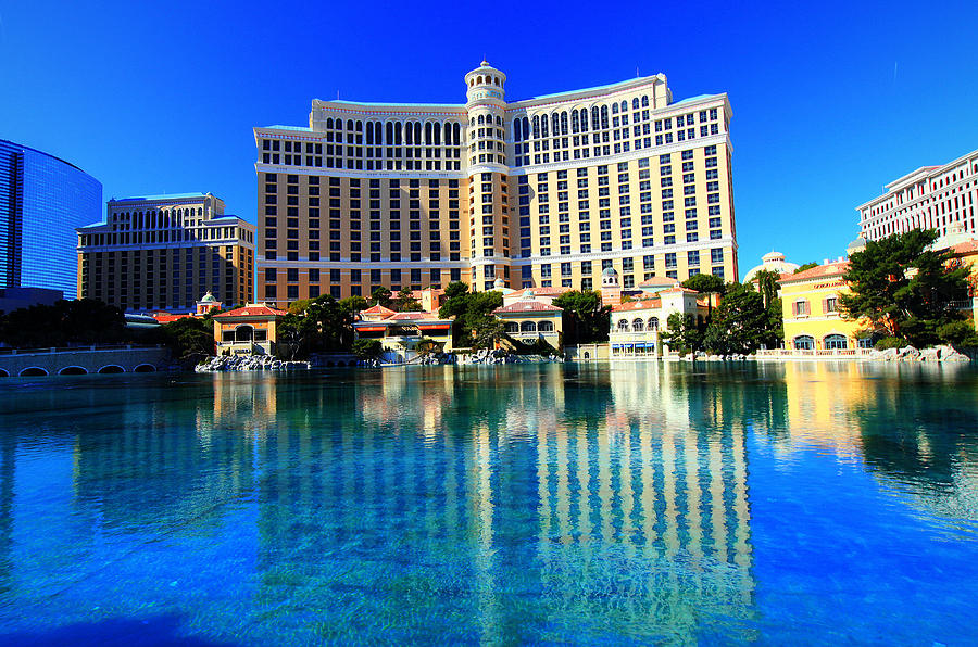 Bellagio Waters Photograph  - Bellagio Waters Fine Art Print
