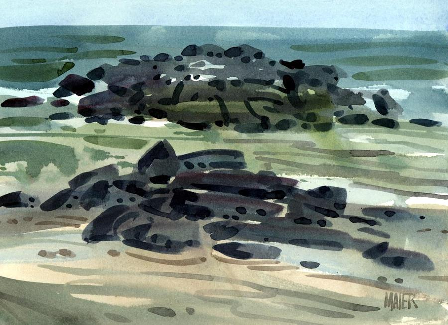 Belmar Jetty Three Painting
