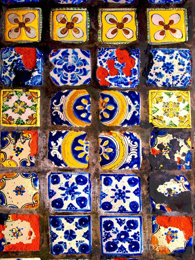 Belmar Tiles By Darian Day Photograph