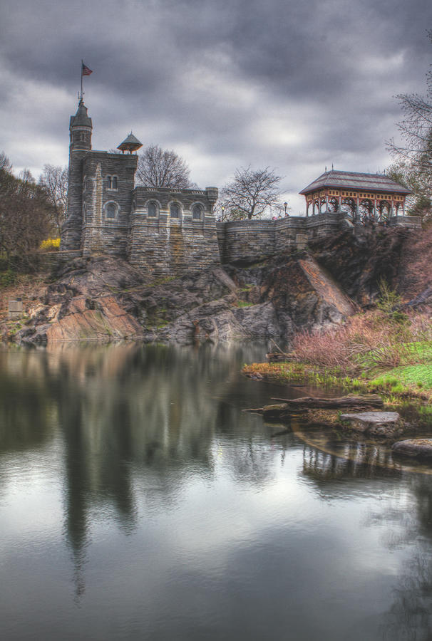 Belvedere Castle Vertical Photograph