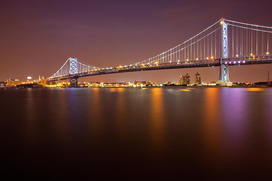 Ben Franklin Bridge Photograph