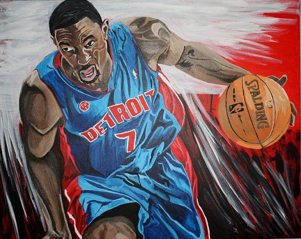 Ben Gordon- Autographed By Gordon Painting