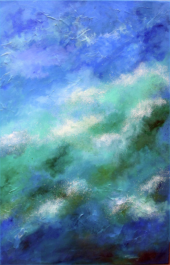 Beneath The Calm Painting  - Beneath The Calm Fine Art Print