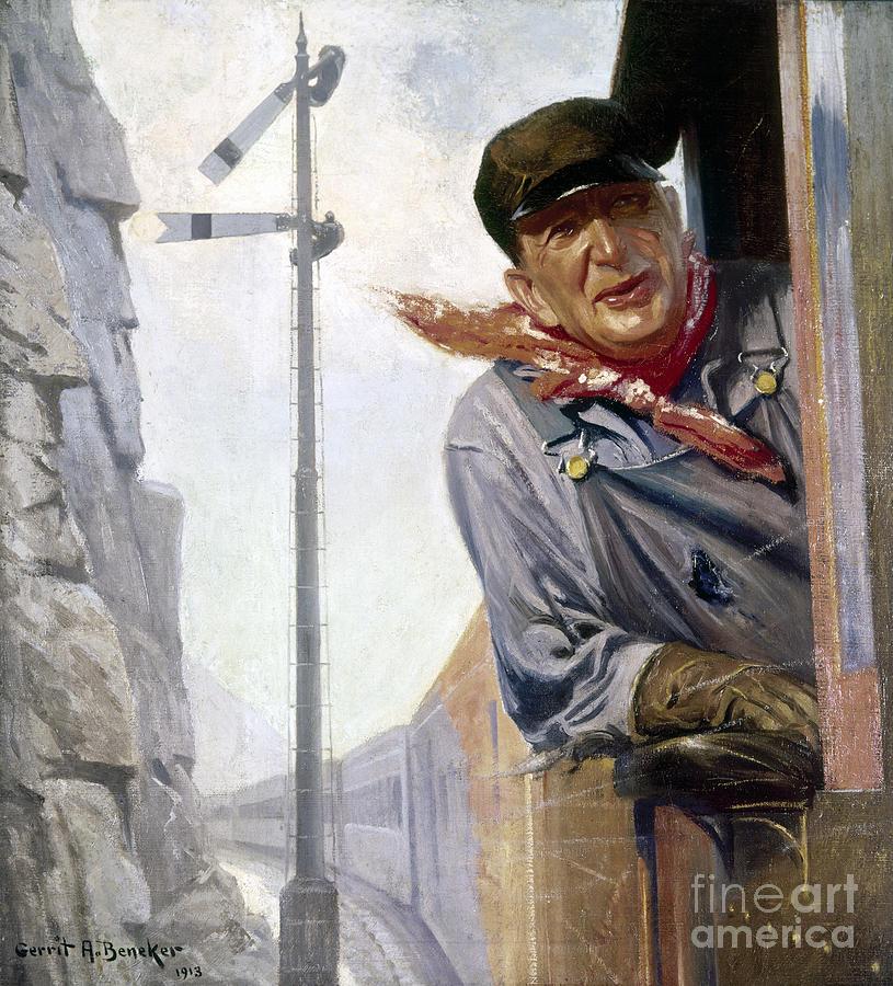 Beneker: The Engineer, 1913 Photograph