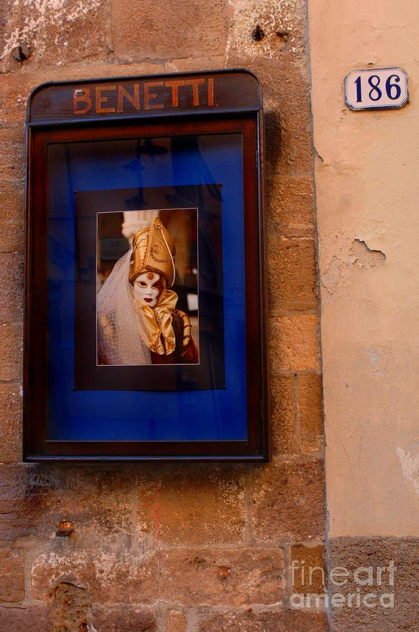Beniiti In Lucca Photograph