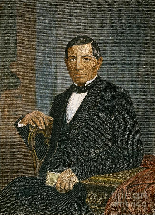 Benito Juarez (1806-1872) Photograph