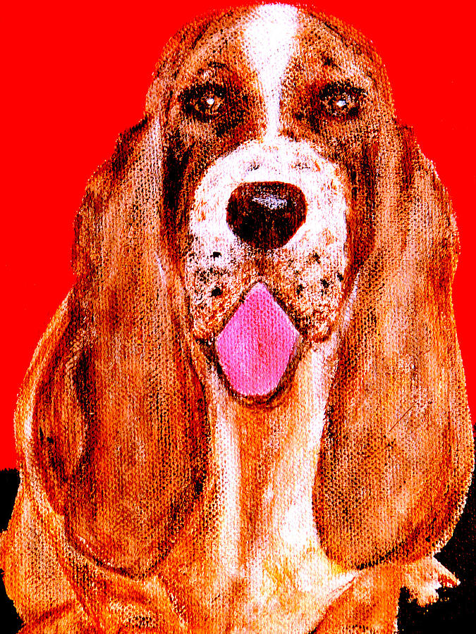Dog Painting - Benny Boy by Forartsake Studio