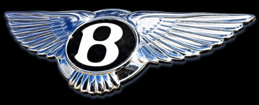 Bentley Digital Art  - Bentley Fine Art Print