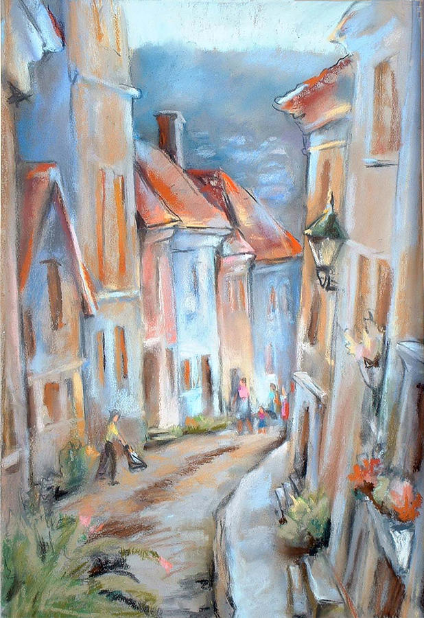Bergen Residential  Painting  - Bergen Residential  Fine Art Print