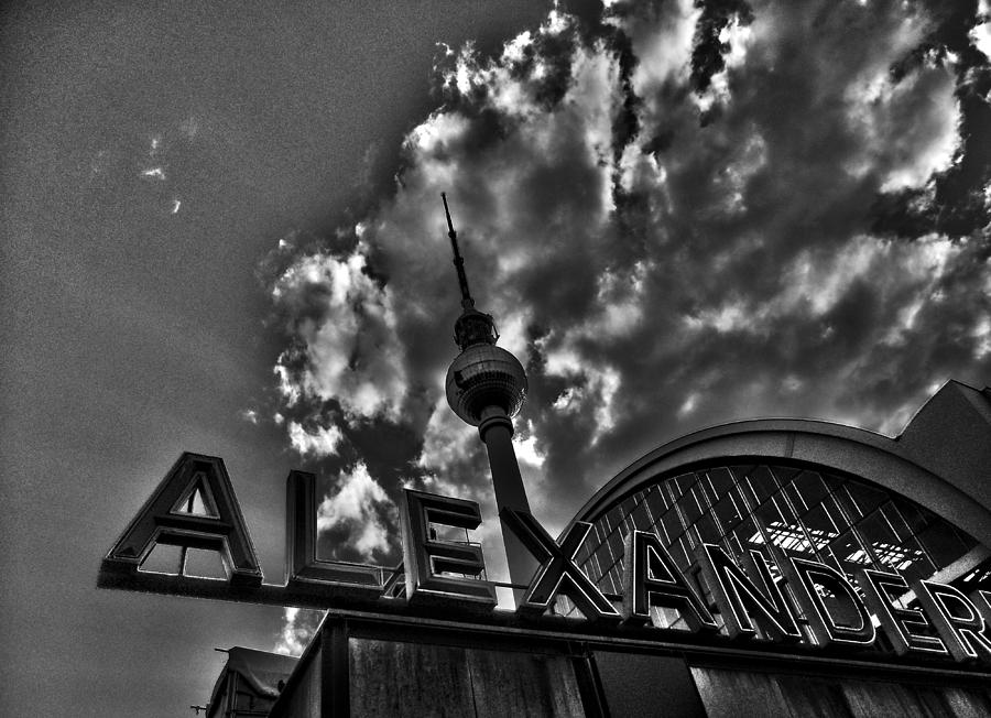 Europe Photograph - Berlin Alexanderplatz by Juergen Weiss