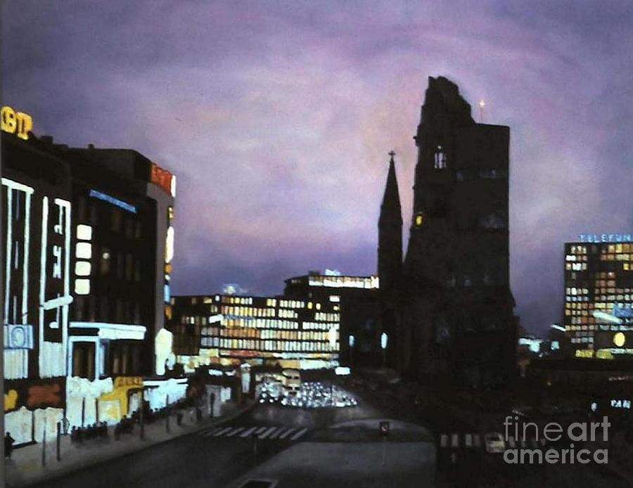 Berlin Nocturne Painting