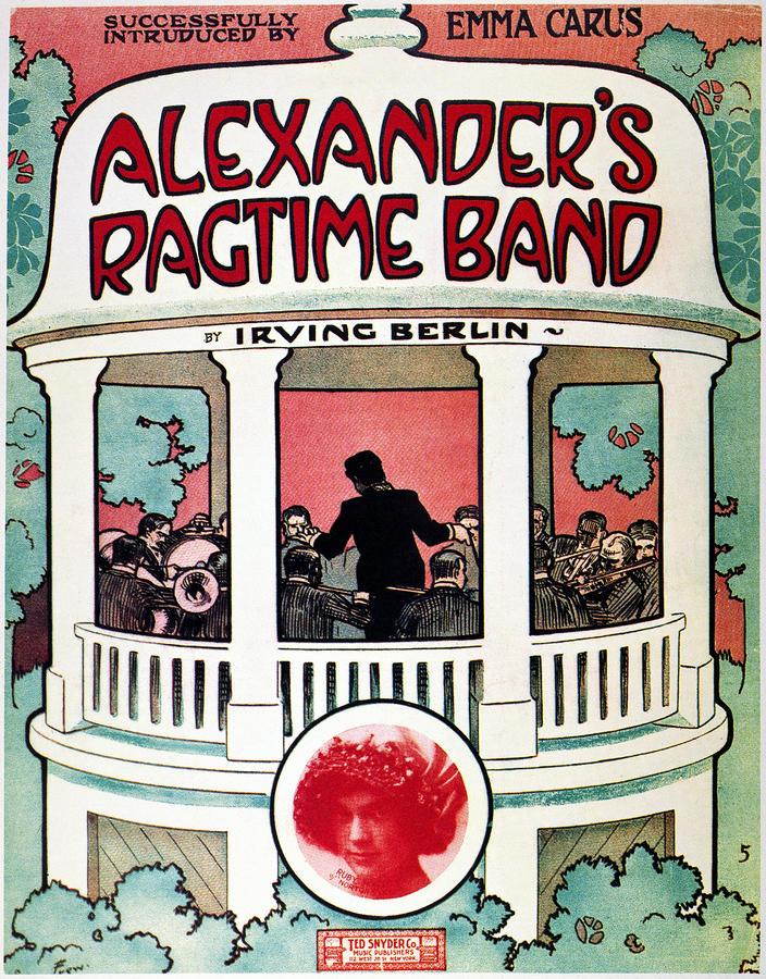 Berlin: Ragtime Band, 1911 Photograph