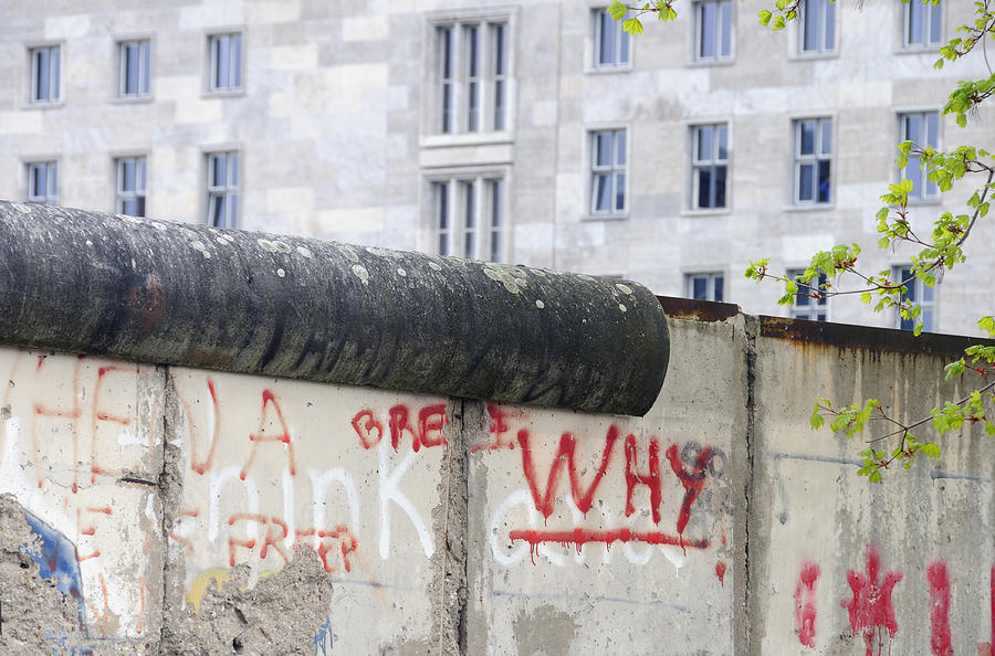 Berlin Wall Photograph  - Berlin Wall Fine Art Print