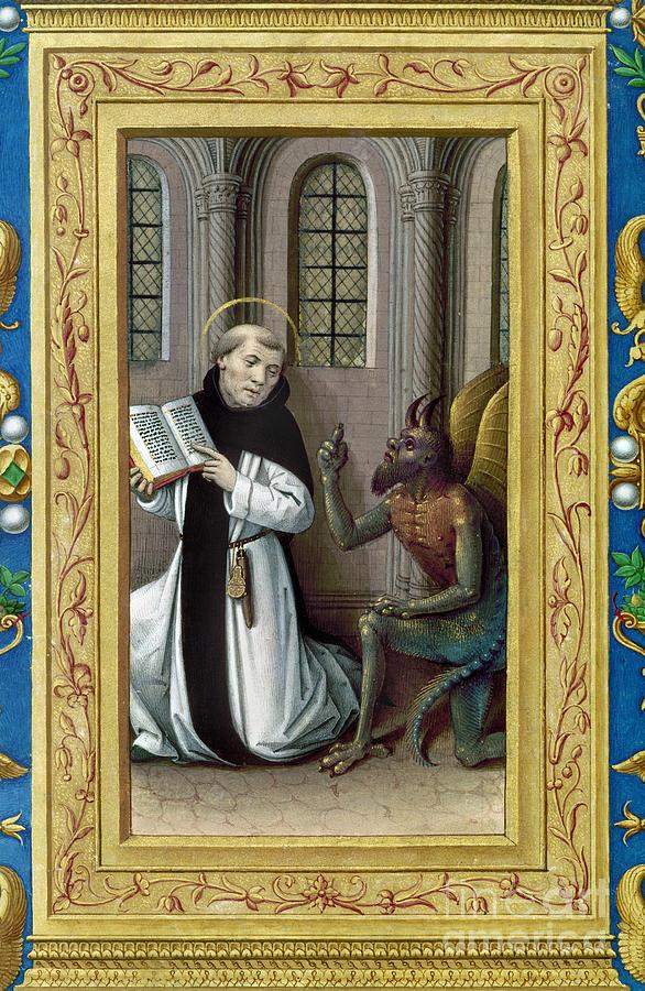 Bernard De Clairvaux Painting