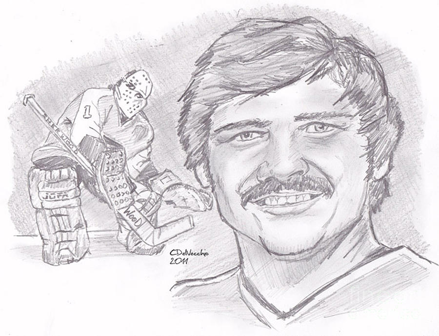 Bernie Parent Drawing