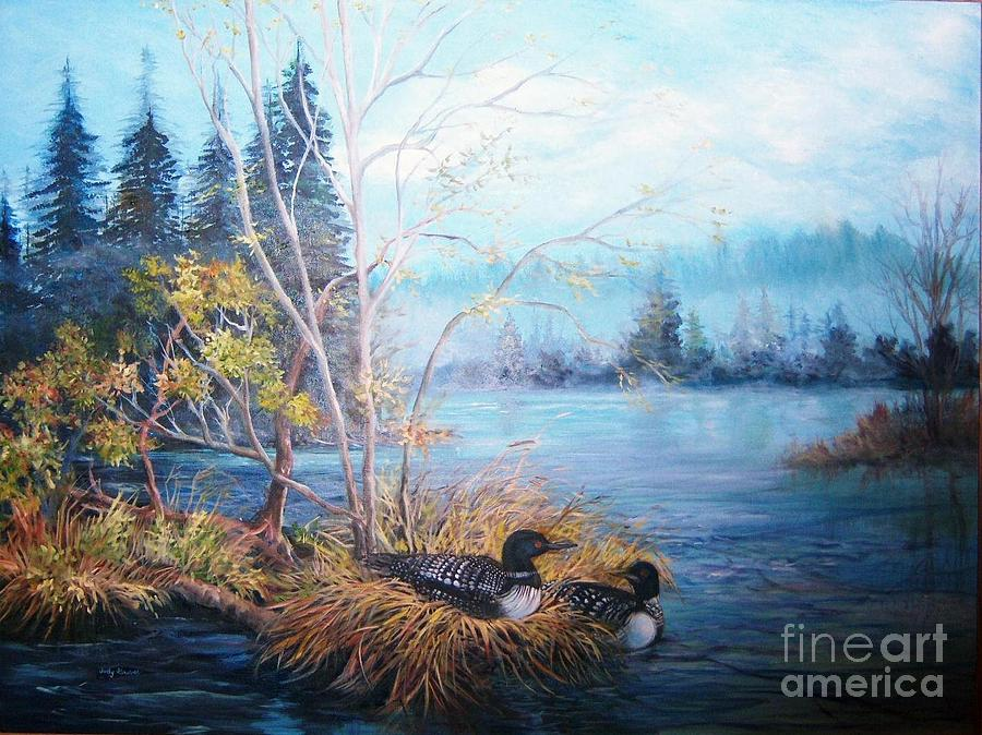 Beside Still Waters Painting