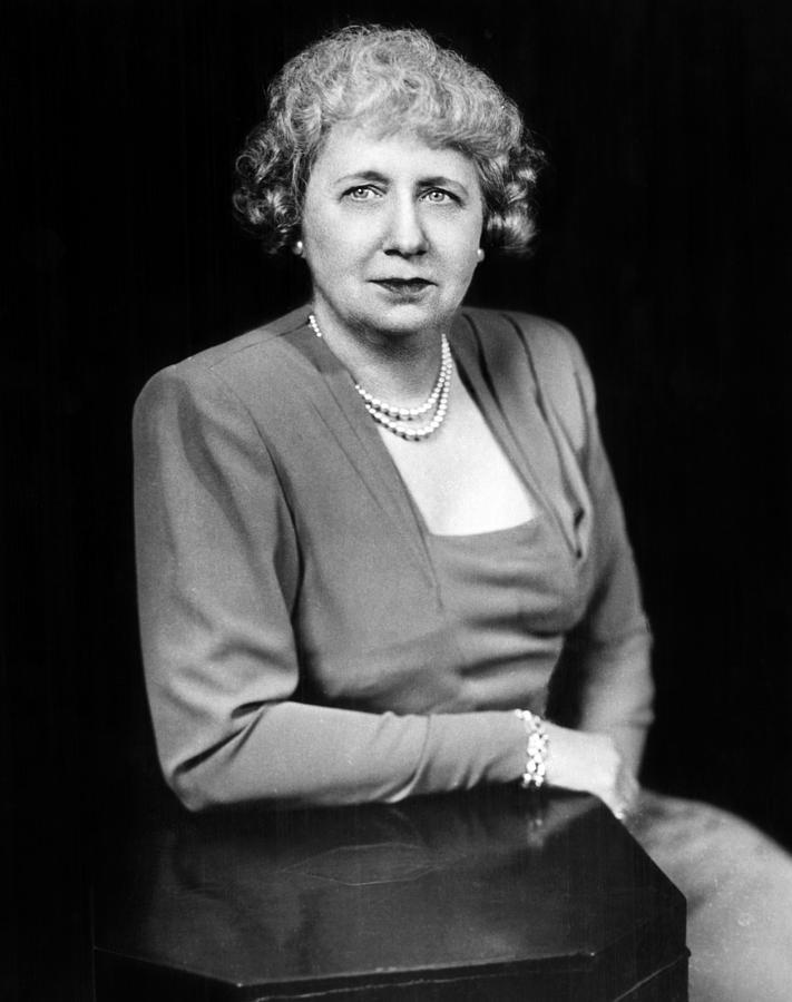 Bess Truman 1885-1982, First Lady Photograph by Everett