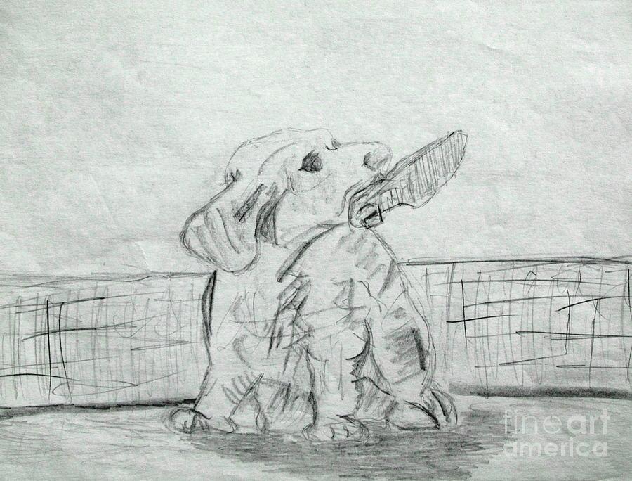 Best Friend 2 Drawing