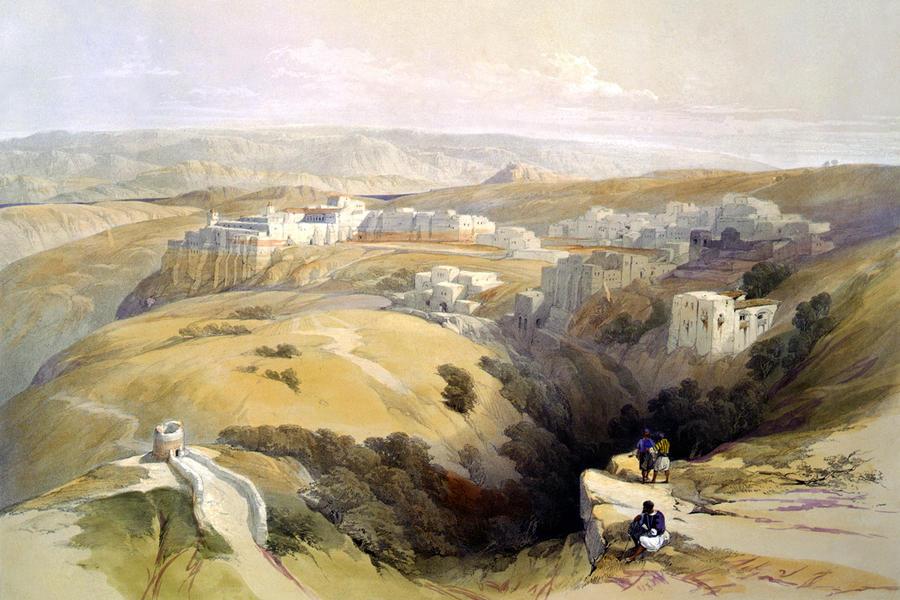 bethlehem 1800s fine art