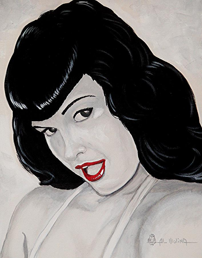 Bettie Painting  - Bettie Fine Art Print