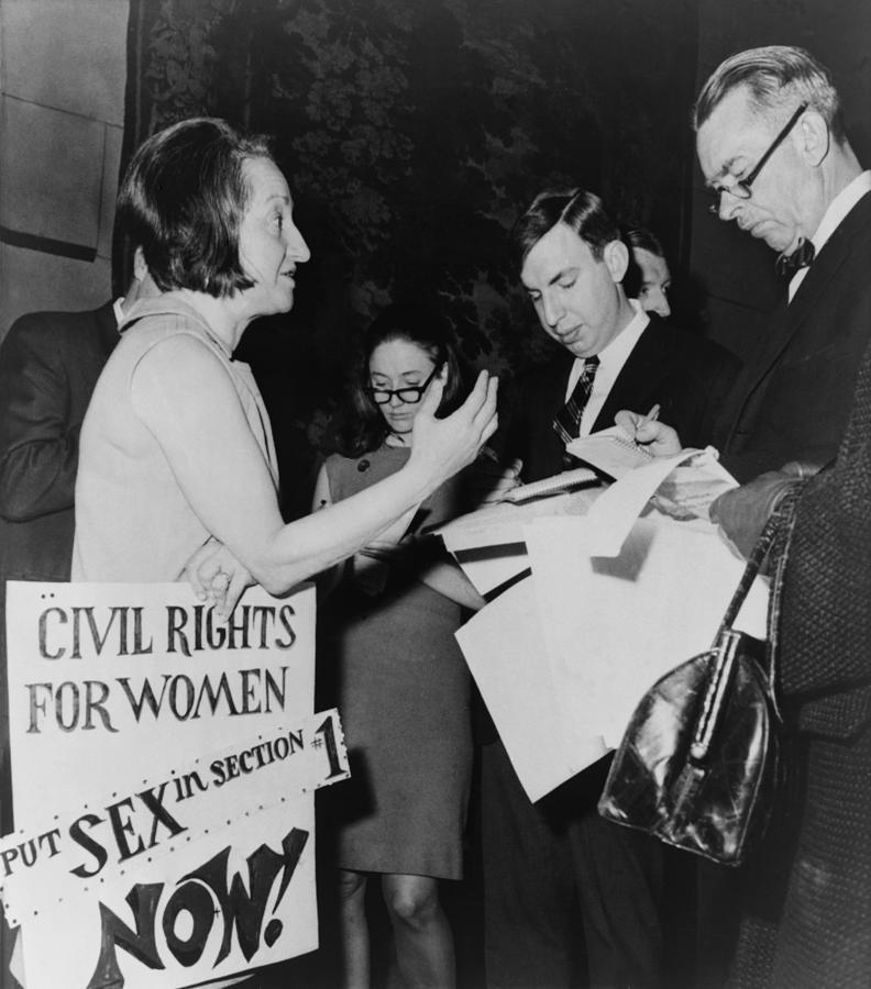 Betty Friedan, President Photograph