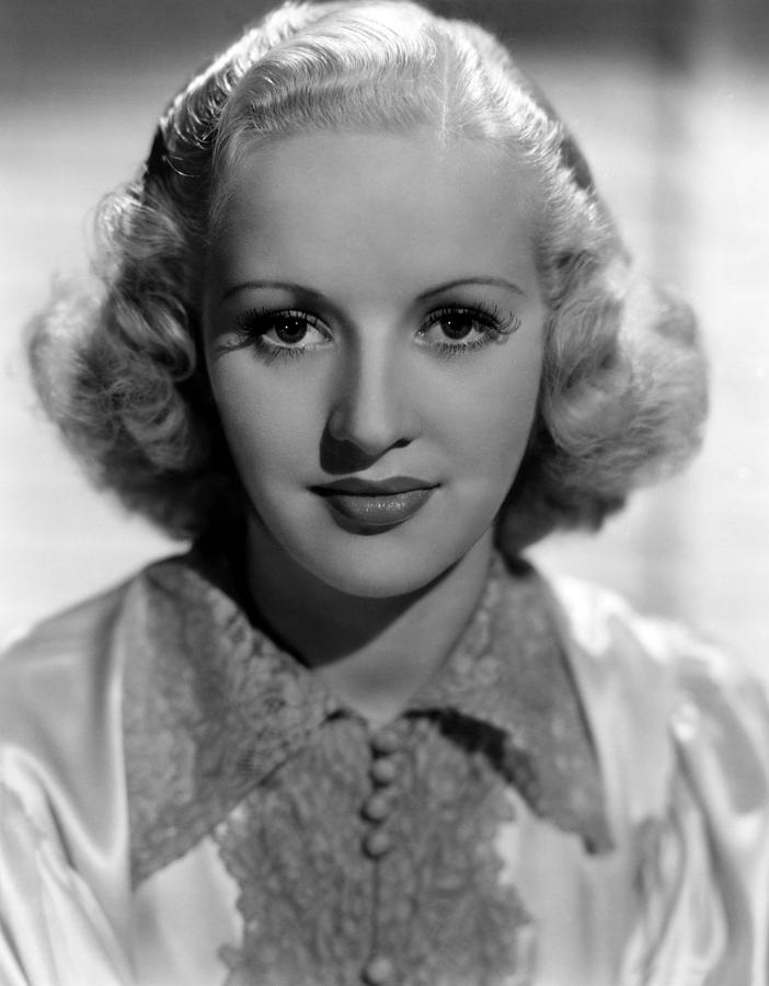 Betty Grable, 1937 Photograph