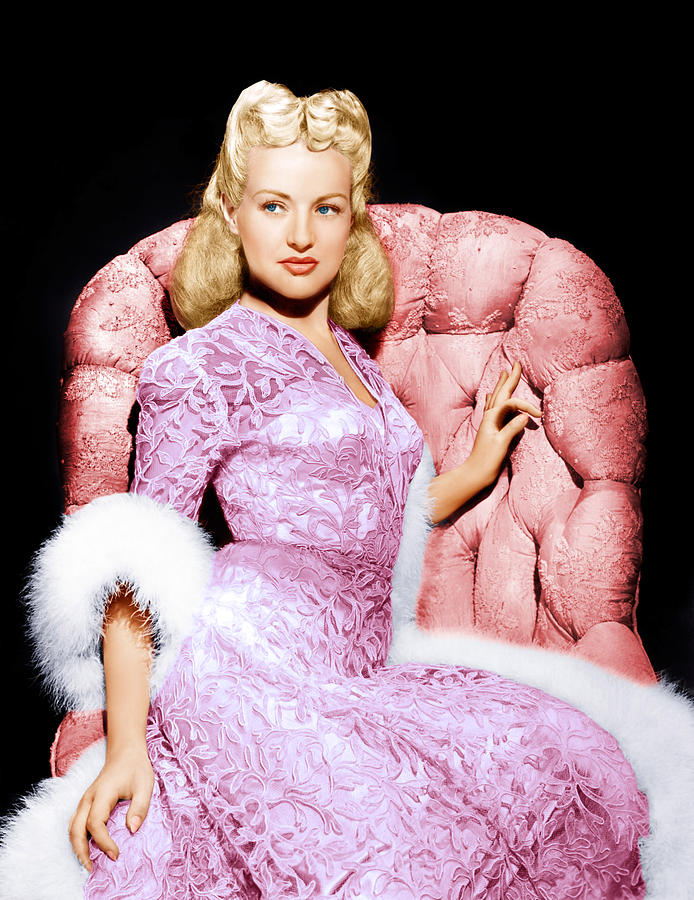 Betty Grable, Ca. 1940s Photograph