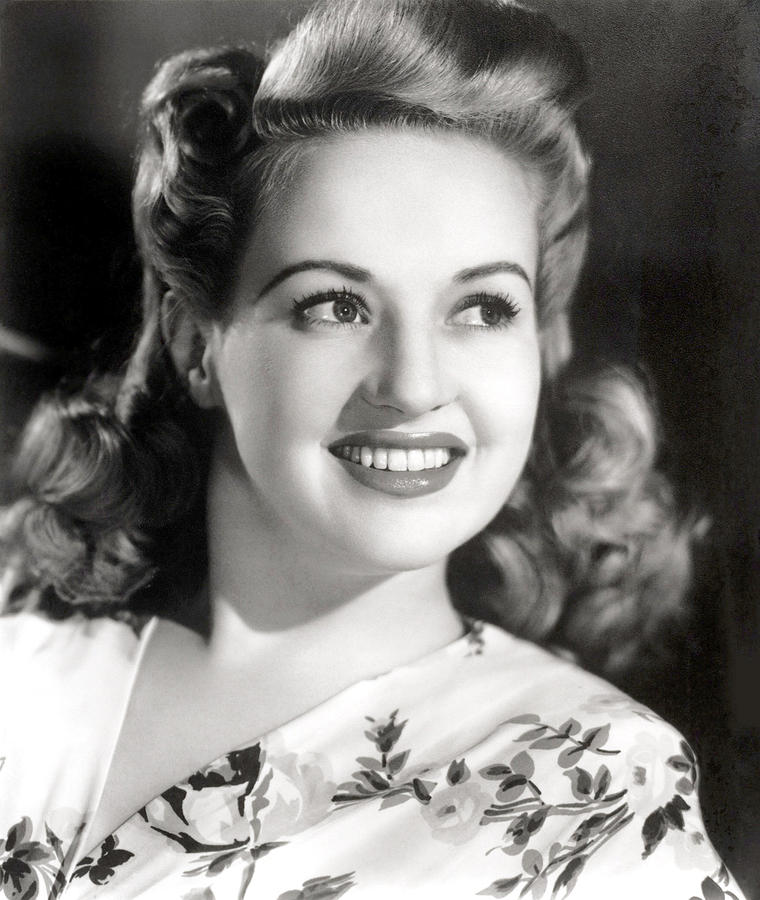 Betty Grable, Circa 1940s Photograph  - Betty Grable, Circa 1940s Fine Art Print