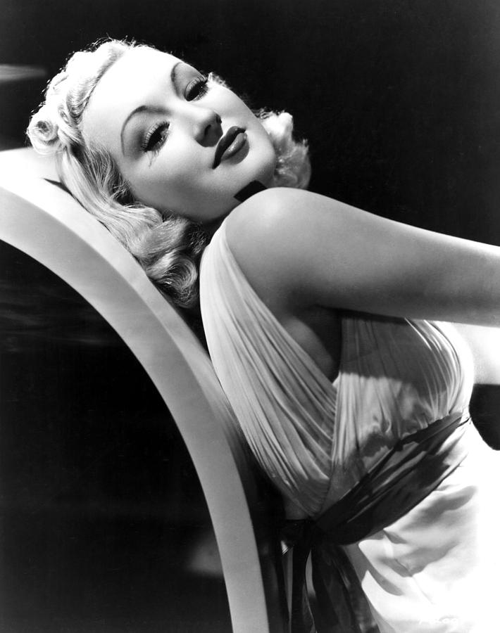 Betty Grable In The 1930s Photograph