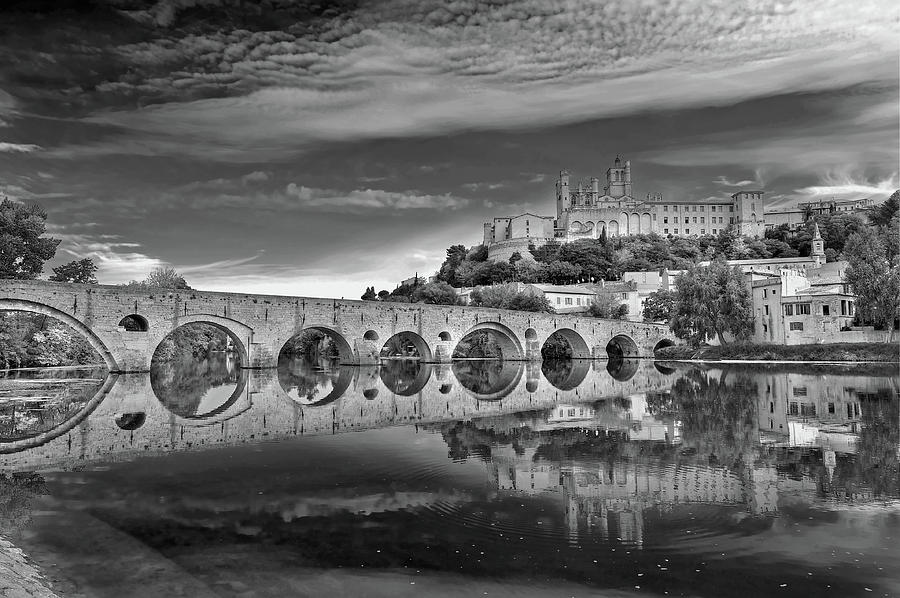 Beziers Cathedral Photograph  - Beziers Cathedral Fine Art Print